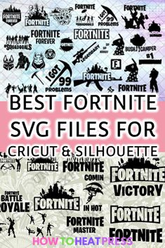 Best Fortnite SVG Files For Cricut And Silhouette Crafts!  #fortnite #svg #svgcutfiles #freesvg #svgfiles #vectorgraphics #cricut #cricutproject #cricutcrafts #silhouette #silhouetteproject #silhouettecrafts #crafts #craftprojects #tshirts #vinyl