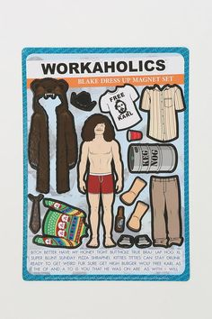Workaholics Magnet #urbanoutfitters