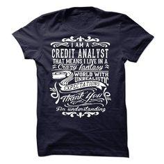 I Am A Credit Analyst T-Shirt Hoodie Sweatshirts euo. Check price ==► http://graphictshirts.xyz/?p=44020