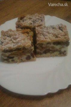 Czech Recipes, Desert Recipes, No Bake Cake, Nutella, Banana Bread, Bakery, Deserts, Pudding, Sweets