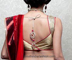 Latest Fashionable Saree Blouse Designs ~ Celebrity Sarees, Designer Sarees, Bridal Sarees, Latest Blouse Designs 2014