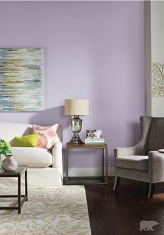 light purple living room walls camouflage furniture 64 best rooms images in 2019 lilac bedrooms interior colors inspirations