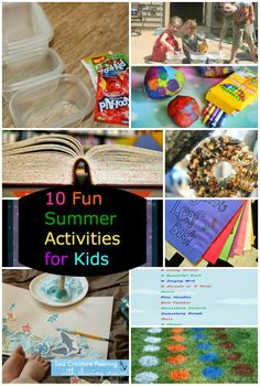 10 Fun Summer Activities For Kids