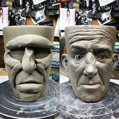 Clay Mug Sculpture
