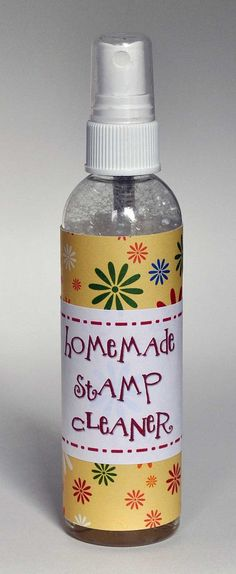 """The Frugal Crafter Cleans Up"" article on how to make your own stamp cleaner - from the Lily Pad cards website."