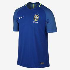 2016 Brasil CBF Vapor Match Away Men s Soccer Jersey Soccer Gear 28da25a328513
