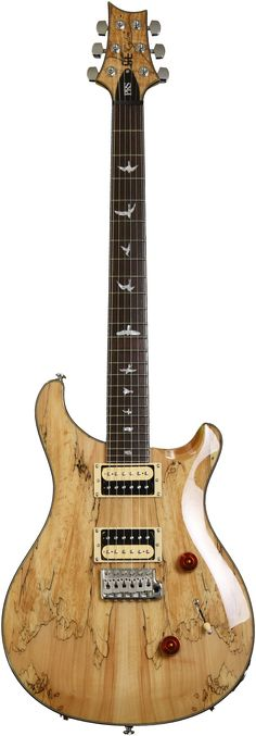PRS SweetStock SE Custom 24 - Spalted Maple, Natural | Sweetwater.com