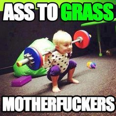 Ass to the Grass This will be Amelia....I can feel it!!