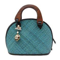 Michelle Handbag in Teal  by PetZympatico  $49.90