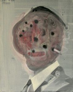 Adict oil on canvas 41 x 51 cm / 2014
