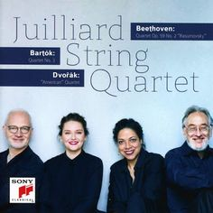 Bartok Beethoven Dvorak Juilliard String Quartet Album
