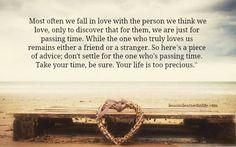 Love's not easy...