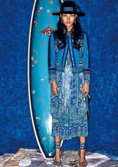 Meng Zheng by Walter Chin for Vogue China May 2015