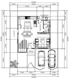 Modern Architecture Design, Architecture Plan, Modern Design, Construction Contract, House Construction Plan, Garage Dimensions, Small House Design, Home Design Plans, Beautiful Buildings