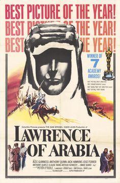 Lawrence of Arabia, David Lean, 1962