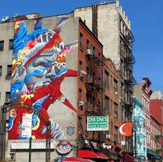 Tristan Eaton (2014) - Little Italy, New York City (USA)
