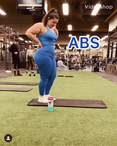 Fitness Workouts, Gym Workout Videos, Gym Workout For Beginners, Fitness Workout For Women, Ab Workout At Home, Butt Workout, Body Fitness, Fitness Goals, Fitness Motivation