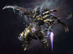 [Protoss_Dark Shadow Zealot], James Zhan on ArtStation at http://www.artstation.com/artwork/protoss_dark-shadow-zealot-0aed8270-a622-413e-9834-08235ff6c690