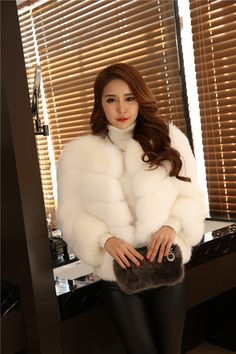 Affordable Pure White Thick Faux Fur Coat For Sale Online. Winter jacket  for feminine women 792801186c