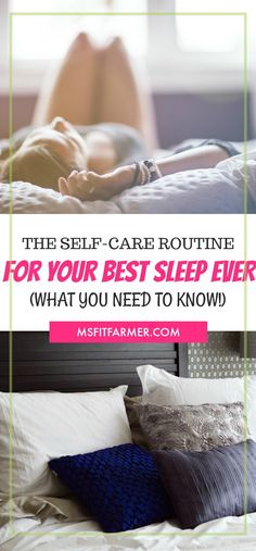 The Essential Self-Care Routine Every Busy Woman Needs | 6 Hacks For Good Nights that Lead to Better Mornings | Find More at https://msfitfarmer.com