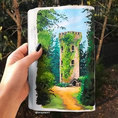 This Artist Creates Beautiful Paintings In Her Sketchbook Inspired By Nature - Australian Art - 59 Vibrant Illustrations Inspired By Nature By Australian Artist - Painting Inspiration, Art Inspo, Sketchbook Inspiration, Arte Sketchbook, Fashion Sketchbook, Gouache Painting, Australian Artists, Beautiful Paintings, Paintings Of Nature