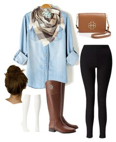 """""""Untitled #34"""" by olivia-elk on Polyvore featuring BP., Miss Selfridge, Tory Burch and Charlotte Russe"""