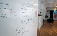 IdeaPaint on Creatives Outfitter make you wall into a whiteboard
