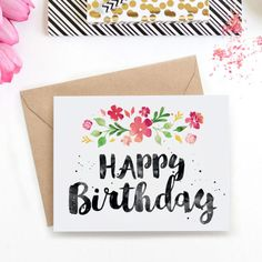 Printable birthday card for brother to the best brother in the printable birthday card spring blossoms bookmarktalkfo Images