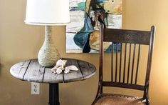 Update a Lamp with Rope for a Nautical Theme | Goodwill Industries of the Southern Piedmont