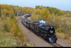 RailPictures.Net Photo: MILW 261 Chicago, Milwaukee, St. Paul & Pacific Steam 4-8-4 at Brook Park, Minnesota by Tyler McCall