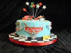 Cars 2 Cake by Cakes-by-Louise, via Flickr