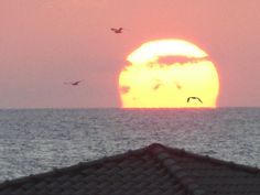 sunset - view from Pension Anna balcony! Crete, Balcony, Anna, Celestial, Sunset, Outdoor, Outdoors, Balconies, Sunsets