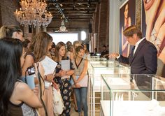 Creative Chief Officer, Stephen Fairchild, telling about PANDORA's Autumn/Winter collection 2015. #PANDORApreviewAW #Cipriani #Venice