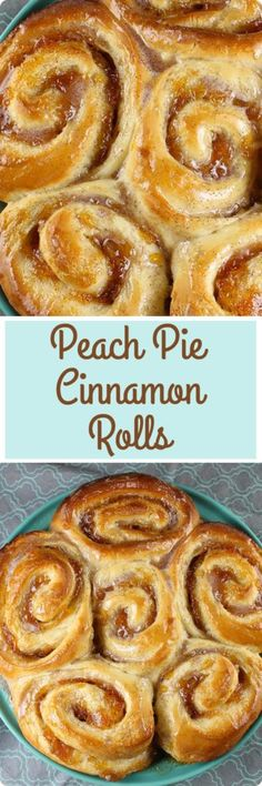 Take your cinnamon rolls to the next level by adding peach filling. These sweet rolls make an incredibly delicious breakfast treat that your family is sure to enjoy! Find recipe at redstaryeast.com.