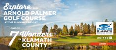 Oregon's only Arnold Palmer designed golf course at Running Y Ranch Resort