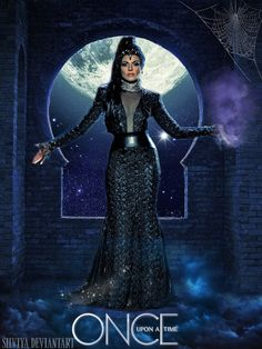 The Evil Queen OUAT season 3 fanmade poster by silviya on deviantART ~ Once Upon a Time tv series photo manipulation