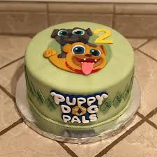 Image result for puppy dog pals cake