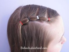 Puffy Braids on the Side - Bang Pull Back (6)