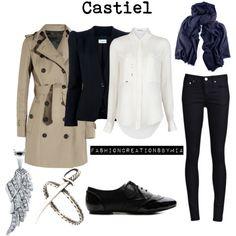 Castiel by by ohana13 | Polyvore