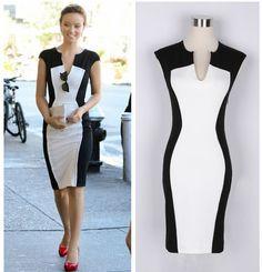 Sexy V-Neck Knee-Length Sleeveless Casual Dress