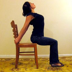 4 Desk Stretches to Relieve Neck and Shoulder Tension.  @maggiestirton