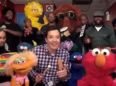 Jimmy Fallon covers 'Sesame Street' theme with The Roots, Muppets - TODAY.com