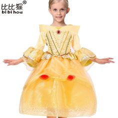click to buy u003cu003c girls beauty and the beast costume kids girls belle