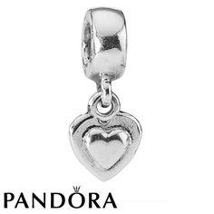 Pandora Double Heart Charm 79725 #jewelrydesign