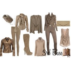 Example Zyla wardrobe: 3rd Base by a2jc4life on Polyvore
