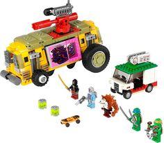 LEGO Teenage Mutant Ninja Turtles Set: 79104 The Shellraiser Street Chase