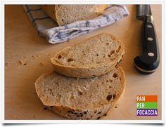 Pane integrale al farro con semi di sesamo