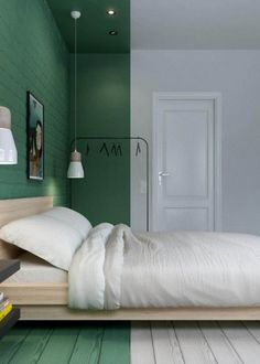 Wall design green: How to use the color effectively - DECO HOME # deco . Green wall design: How to use color effectively – DECO HOME # deco Wandgestaltung Grün: So setzen Sie die Farbe effektvoll ein – DECO HOME 0 Source by