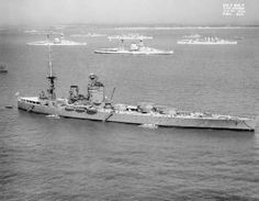 HMS Nelson at Spithead 1937.