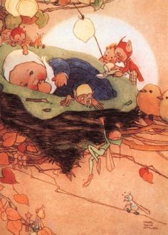 Mabel Lucie Attwell. British Illustrator